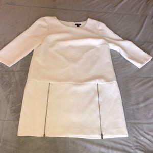Ann Taylor dress cream dress size 8